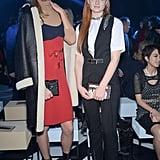 Karlie Kloss and Sophie Turner