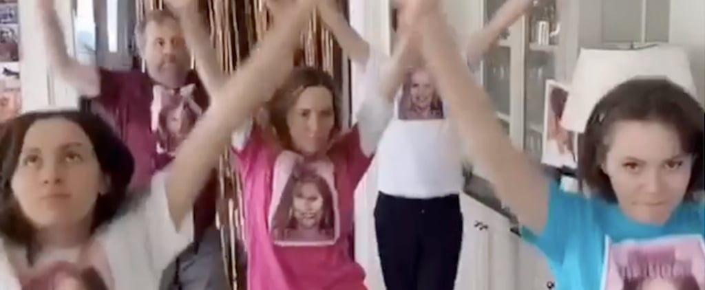 Leslie Mann and Judd Apatow's Dance Video With Their Kids