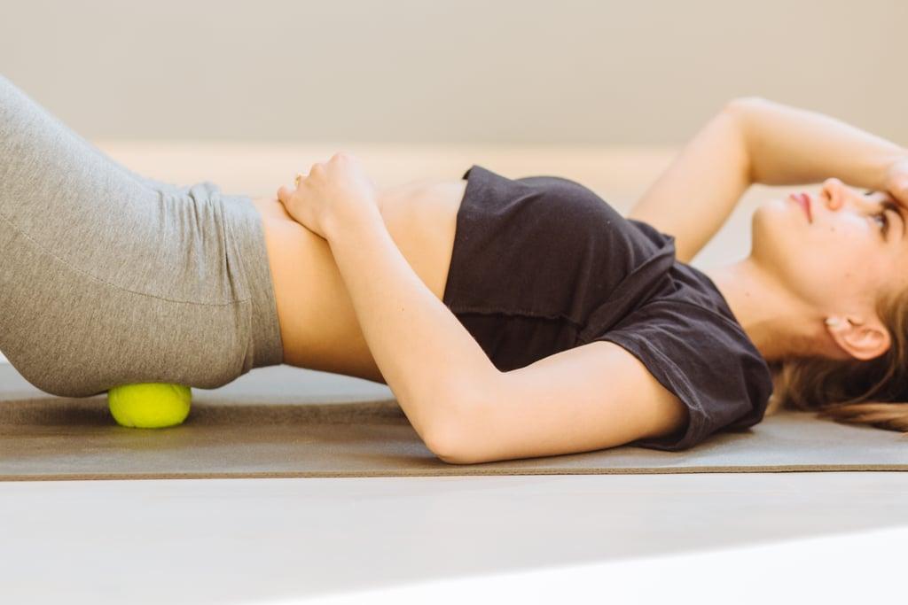 Self Massage Technique For Muscle Pain Using Tennis Balls