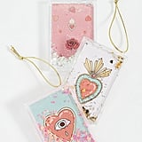 SunnyLife Pack of 3 Glitter Picture Ornaments
