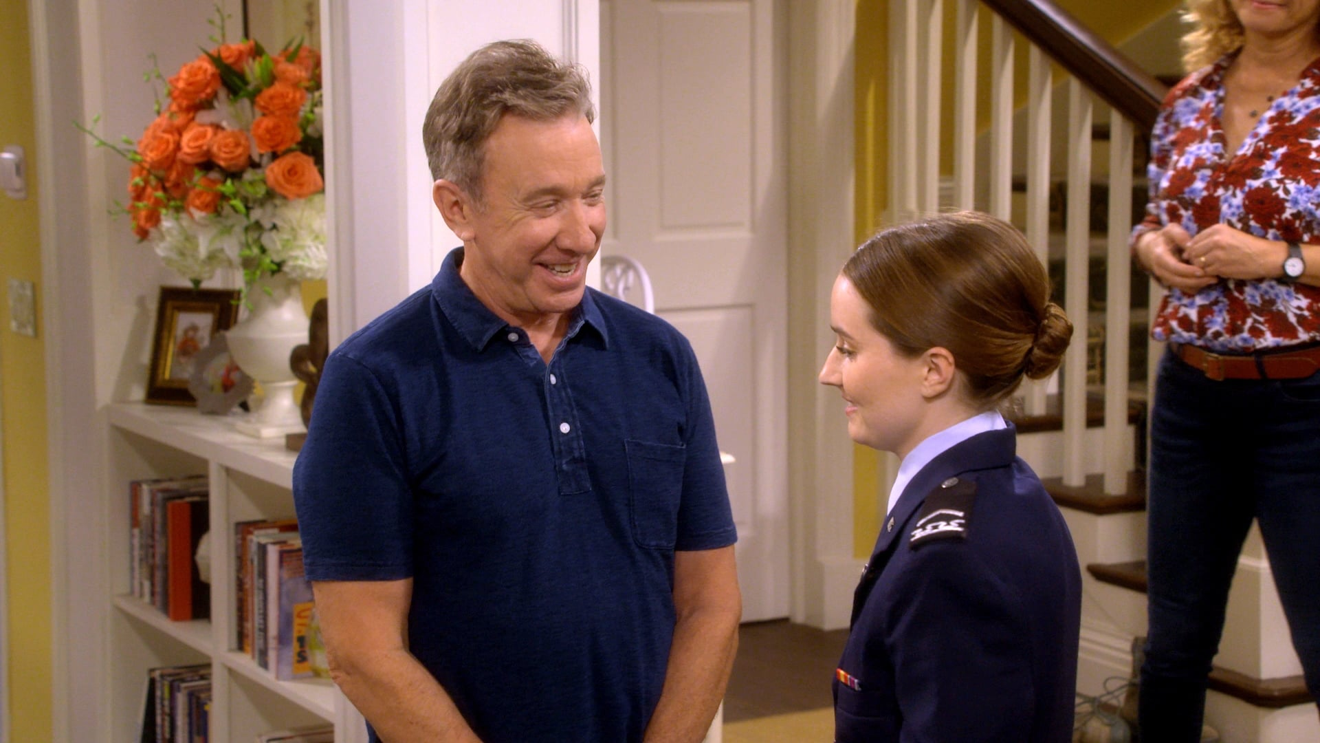 LAST MAN STANDING, Tim Allen, Kaitlyn Dever in 'Wecome Baxter', (Season 7, Episode 701, aired Septembr 28, 2018), ph: FOX / courtesy Everett Collection