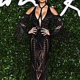 Nicole Scherzinger at the British Fashion Awards 2019