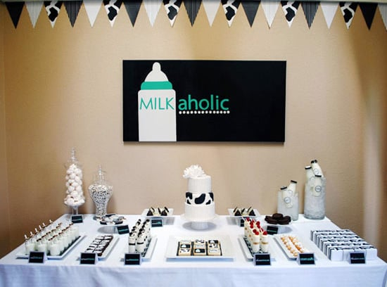 Milkaholic Dessert Table