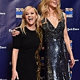 Nicole Kidman and Reese Witherspoon at 2017 Gotham Awards