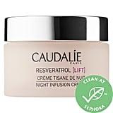 Evening, Step 4: Caudalie Resveratrol Lift Night Infusion Cream