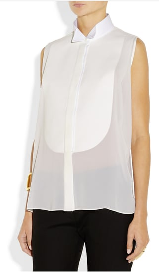 Want It! A Tuxedo-Inspired Blouse