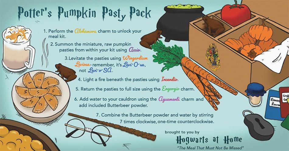 "Harry Potter ""Potter's Pumpkin Pasty Pack"""