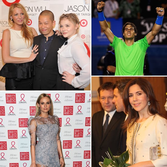 Celebrity Pictures of Princess Mary, Blake Lively, Rafael Nadal, Diane Kruger and More