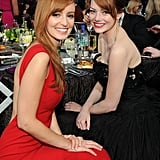 Ahna O'Reilly and Emma Stone