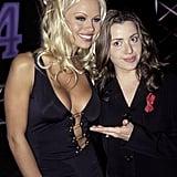 1996: Pamela Anderson and Tina Arena