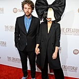 Pictured: Sia Furler and Erik Anders Lang