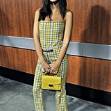 Emily Ratajkowski Is Giving Us Major Cher Horowitz Vibes With This Yellow Plaid Outfit