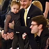 David Beckham's Cutest Pictures With Daughter Harper