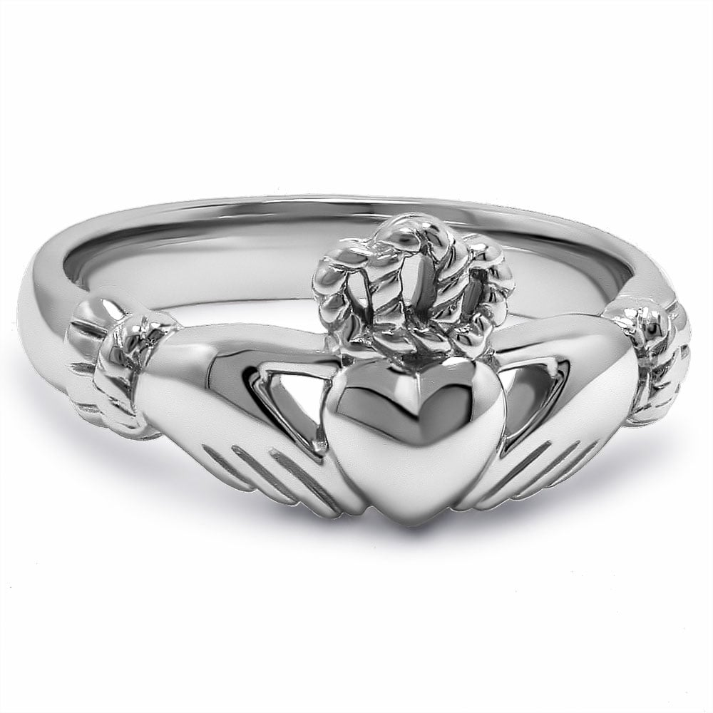 Buffy and Angel Claddaugh Ring ($37)