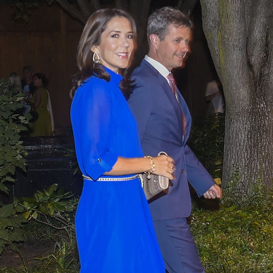 Princess Mary Wearing Blue YDE Jumpsuit September 2016