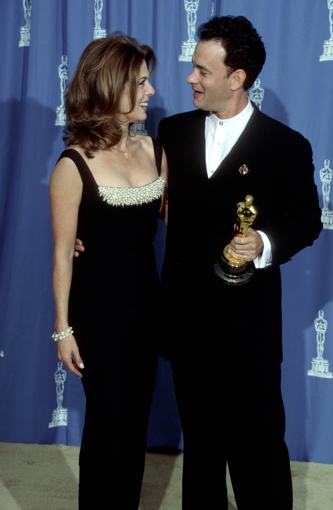 Rita Wilson and Tom Hanks, 1995