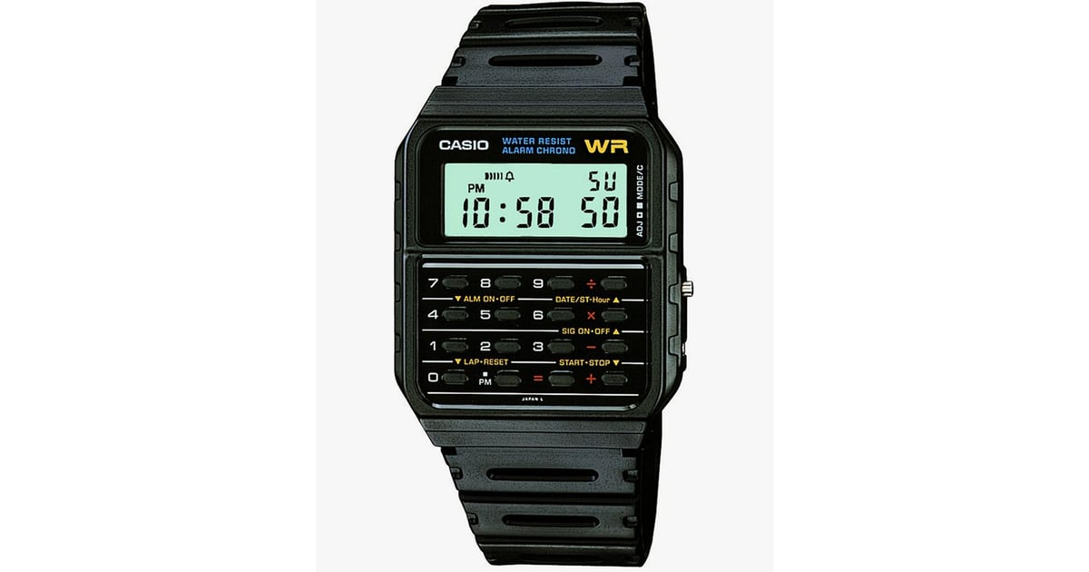 Casio Men S Vintage Calculator Watch The Best Gifts For