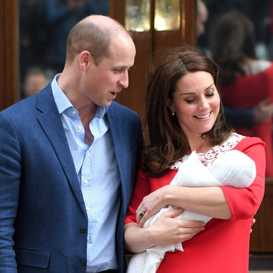 Who are Prince Louis's Godparents?