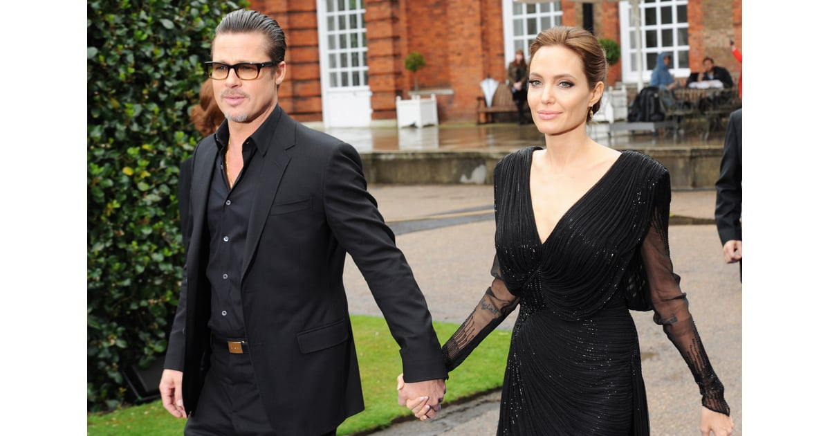 Celebrity Gossip Amp News Angelina Jolie Brings Brad And