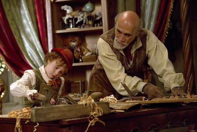 Jakob Davies and Tony Amendola on ABC's Once Upon a Time.