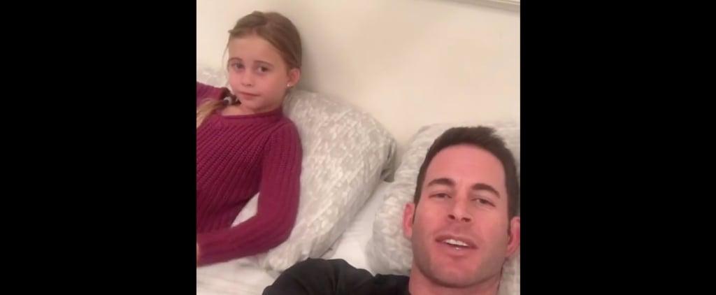 This Adorable Video Proves Tarek El Moussa Puts His Kids Before Any Divorce Drama
