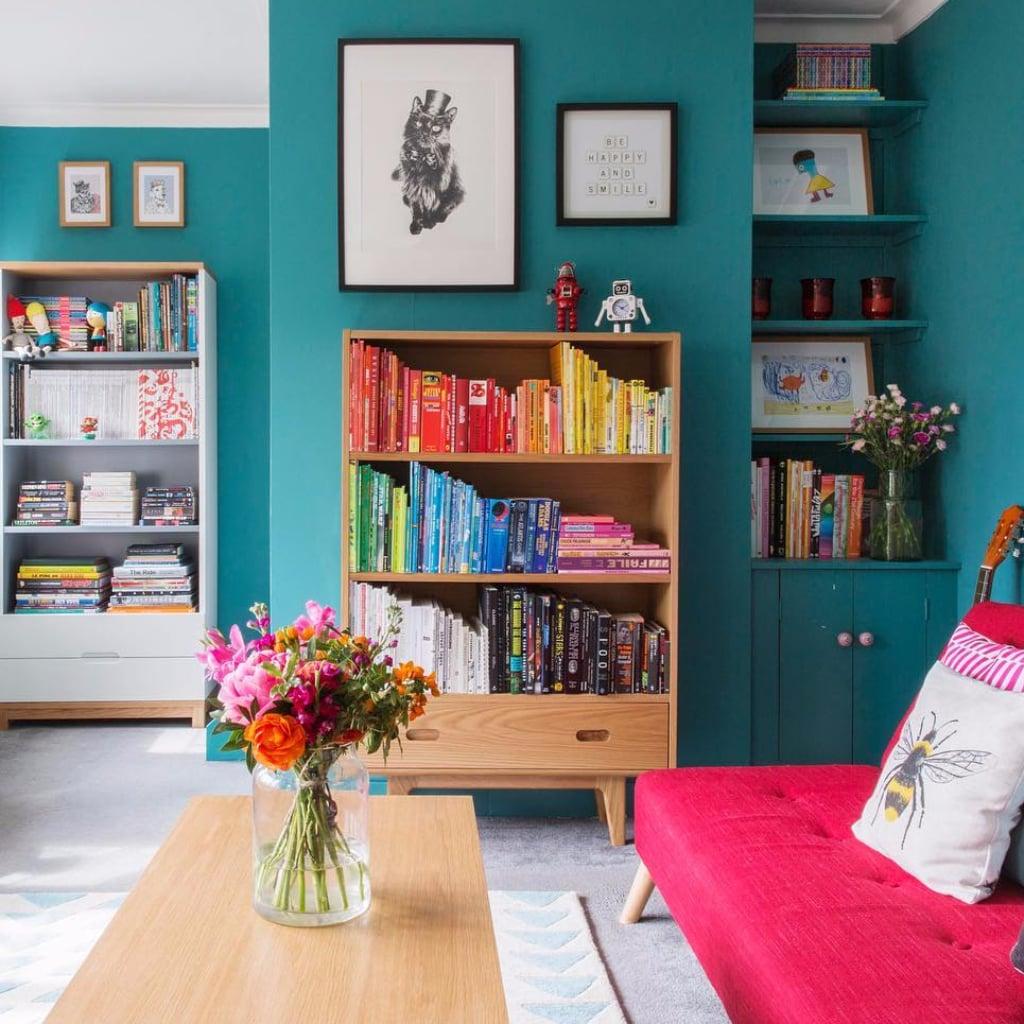 Co colour coordinated bookshelf - Co Colour Coordinated Bookshelf 34