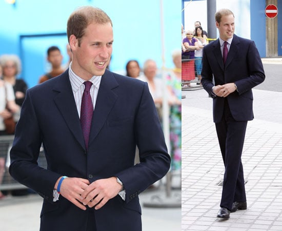 Pictures of Prince William at Royal Society