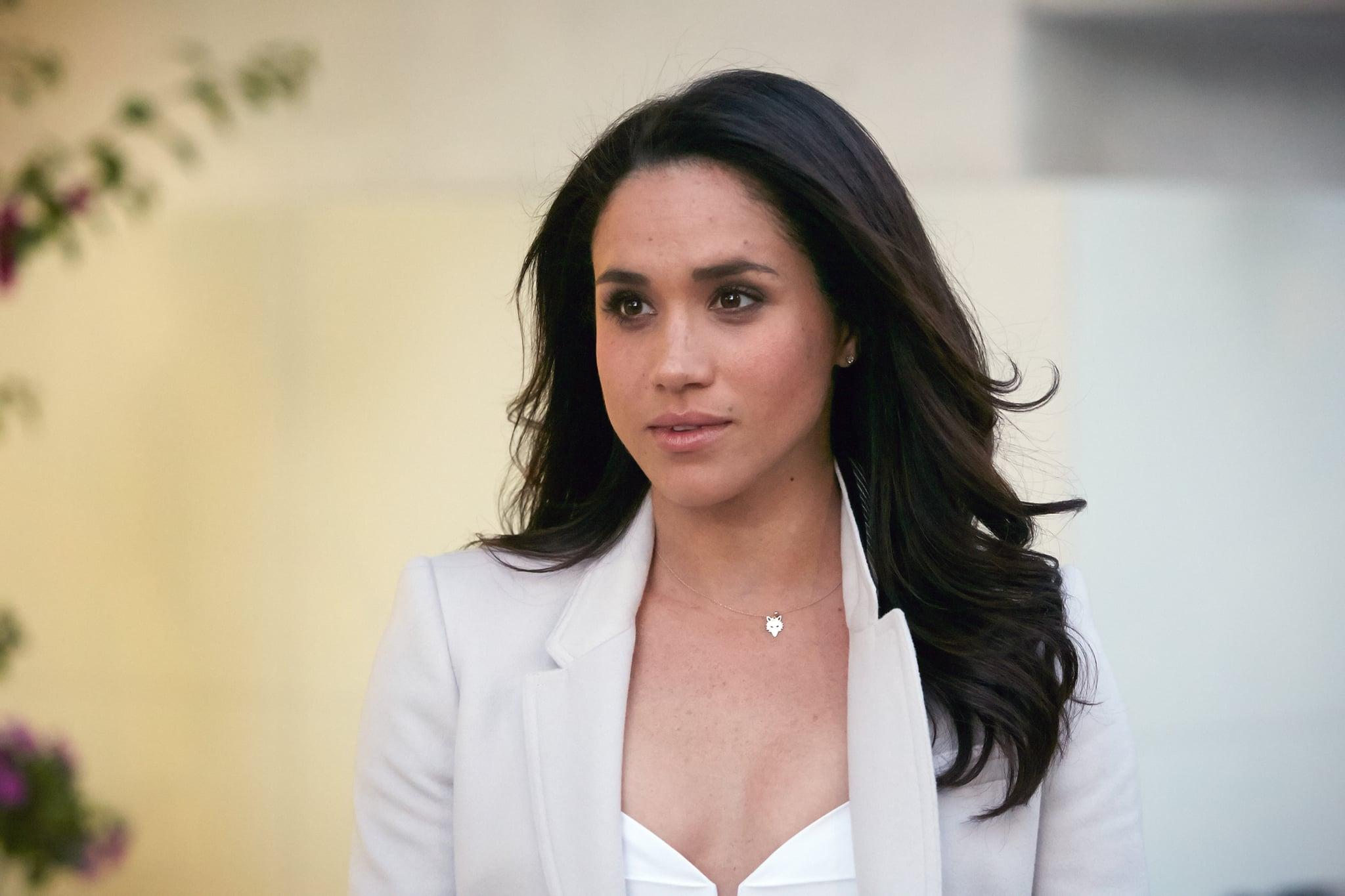 Meghan Markle wears Canadian designer Mackage for first royal engagement