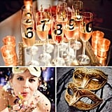 "Have a New Year's Eve Wedding Bash Champagne toasts, kissing, glitz, glam, and dancing — a New Year's Eve celebration has all the elements of a great wedding, so why not use the holiday as inspiration for your big day? Whether you're saying ""I do"" on the kickoff to a new year or you just want it to feel like it, these New Year's Eve elements will take your wedding into party mode! Get the sparkly, celebratory inspiration now!"