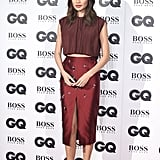 Gemma Chan at the 2018 GQ Men of Year Awards