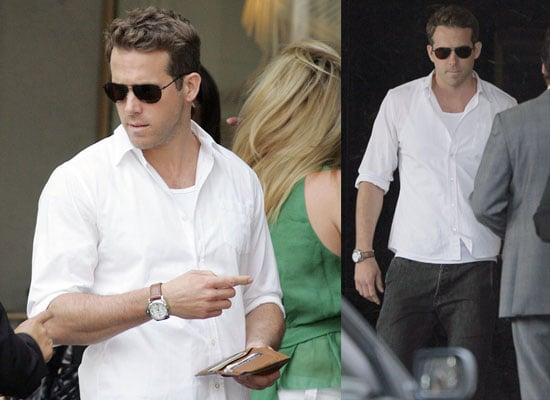 Photos of Ryan Reynolds Shopping in Beverly Hills