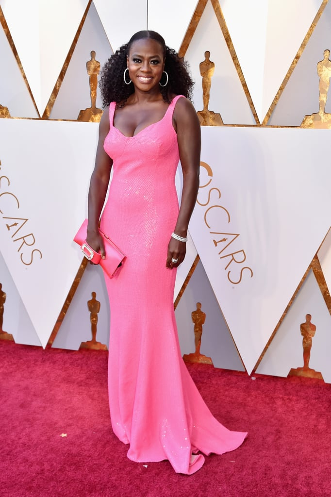 Viola Davis Michael Kors Dress Oscars 2018