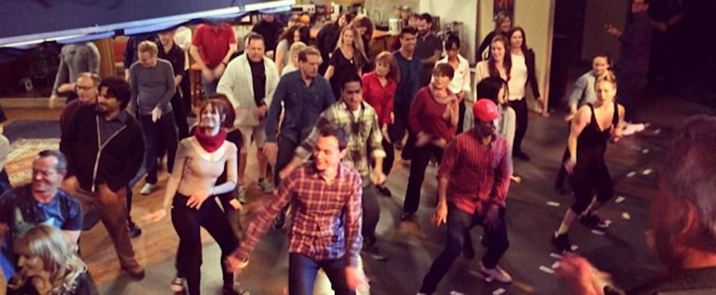 The Big Bang Theory Cast Flash Mob Videos