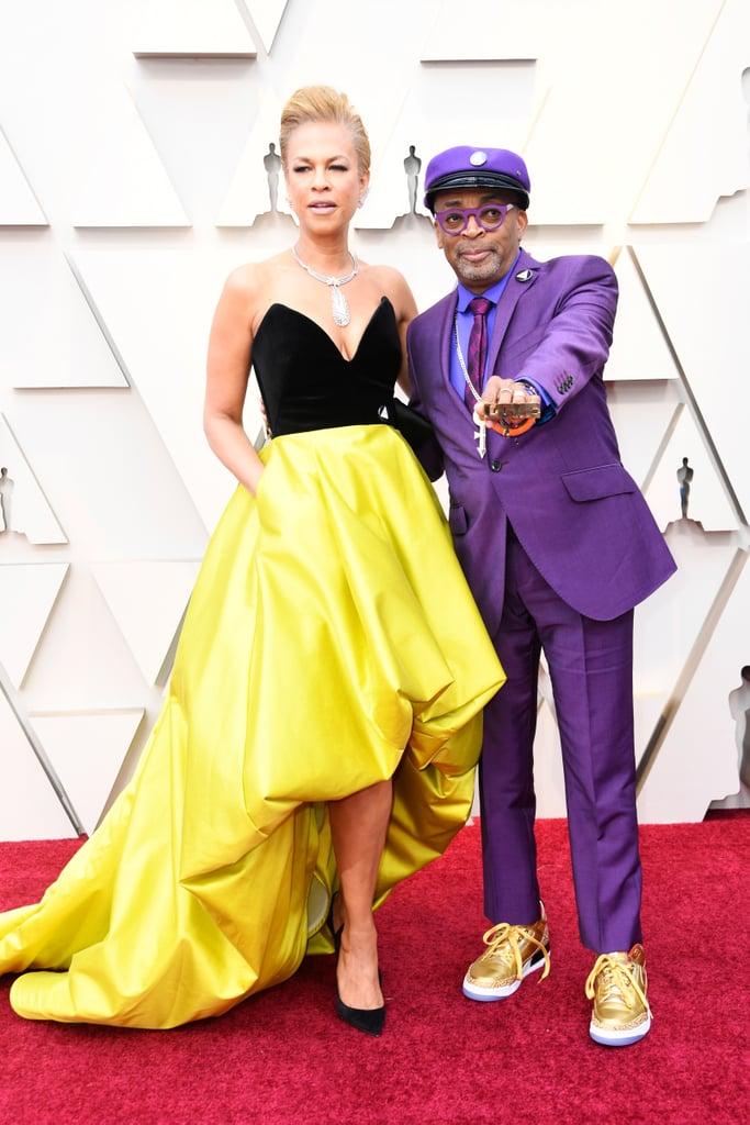 Tonya Lewis Lee is wearing Bibhu Mohapatra.