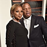 Pictured: Mary J. Blige and Kendu Isaacs