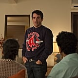 Seeing Danny (Chris Messina) in casual clothes is like witnessing a fish walk along the sidewalk wearing a suit.
