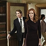 Scott Bakula as Trip and Marcia Cross as Bree on Desperate Housewives. Photo courtesy of ABC