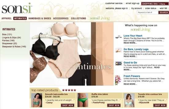 Sonsi.com Offers Shopping and Editorial Content For Plus Size Women