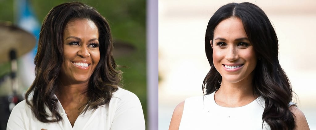 Michelle Obama Gives Advice to Meghan Markle