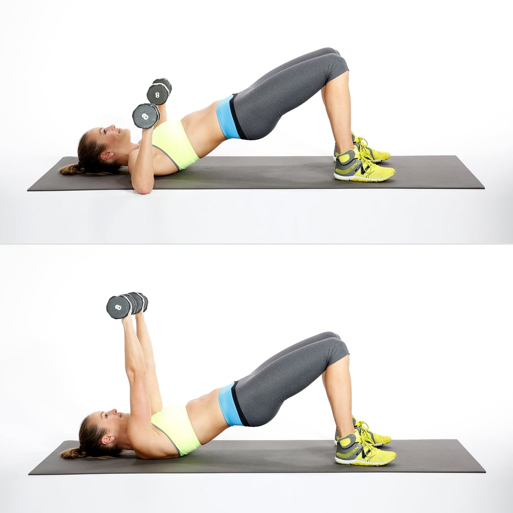 Circuit One: Bridge With Chest Press