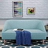 Christopher Knight Home Justus Mid Century Modern Fabric Loveseat