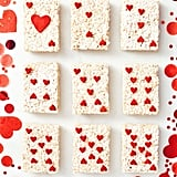 Queen of Hearts Rice Cereal Treats