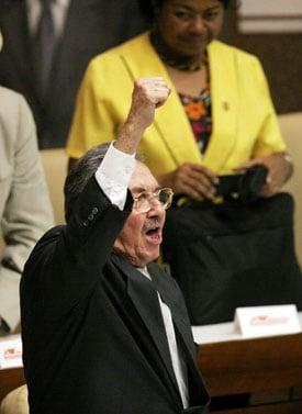 Raul Castro Cuba's New President