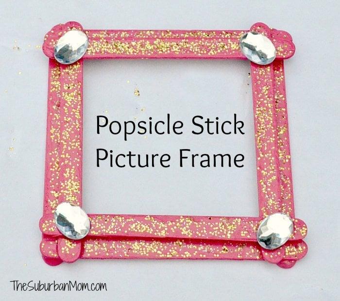 Popsicle Stick Picture Frame | Kid-Friendly Crafts | POPSUGAR Family ...