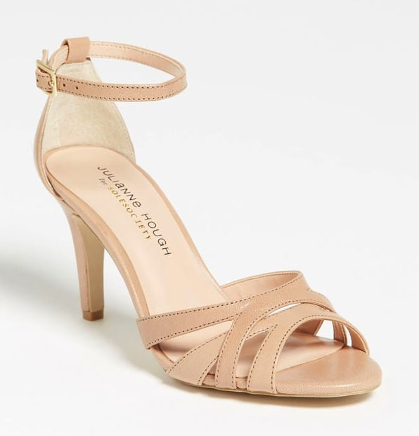 These Julianne Hough for Sole Society Gianna sandals ($60) feature a low heel, which means you can dance all night without frying your feet.