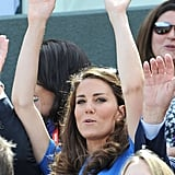 Even Duchesses do the Mexican wave!