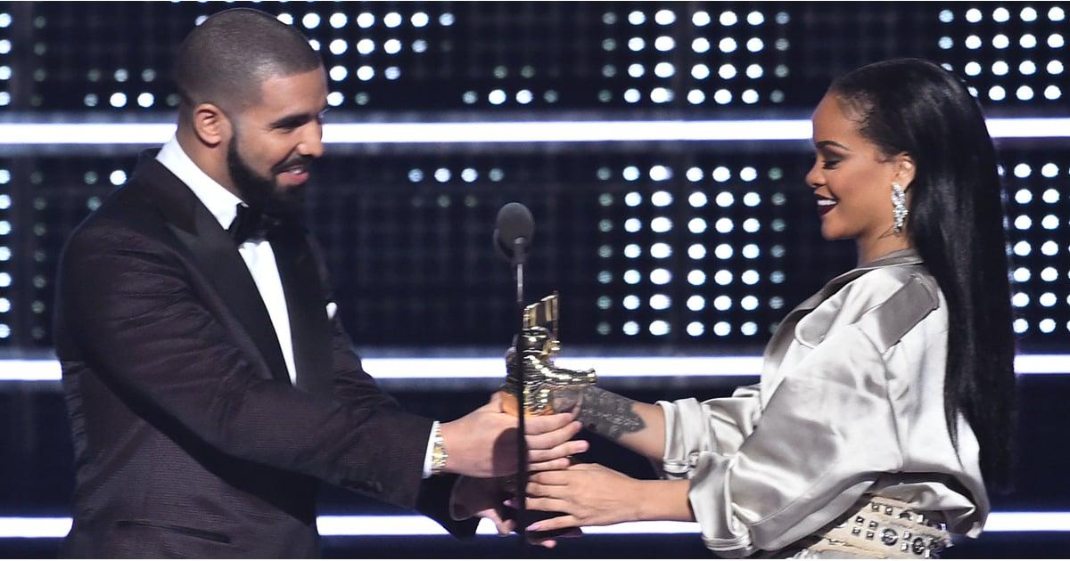 Drake And Rihanna At The 2016 Mtv Video Music Awards Popsugar
