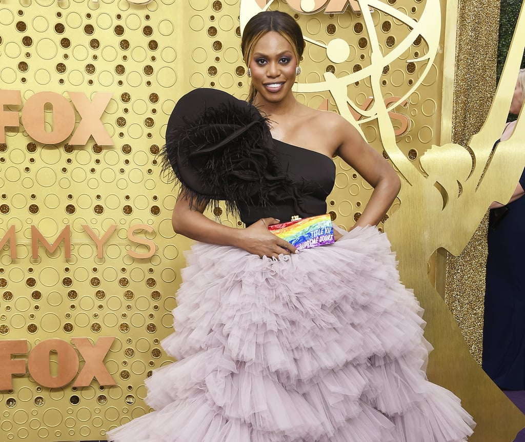 Laverne Cox's Rainbox Clutch Holds a Lot of Weight, and It's Not Because of What's Inside