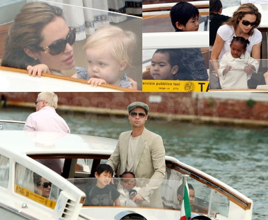 Jolie-Pitts Get Adorably Back On The Boat