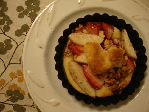 Strawberry-Pear Tarts